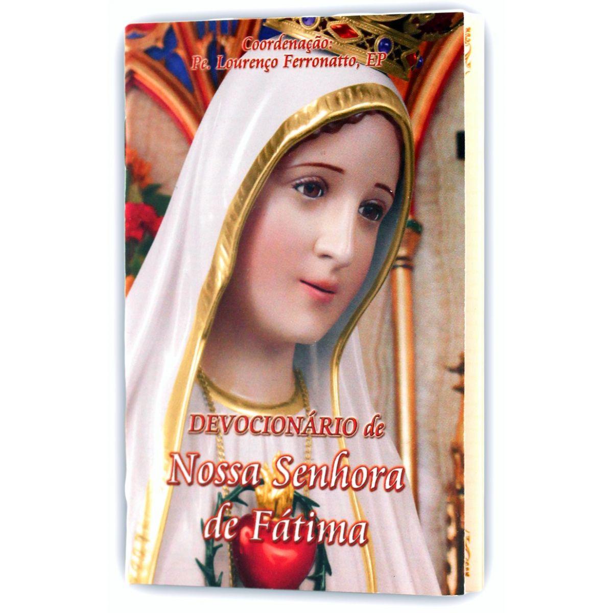 Livro Devocionário de Nossa Senhora de Fátima