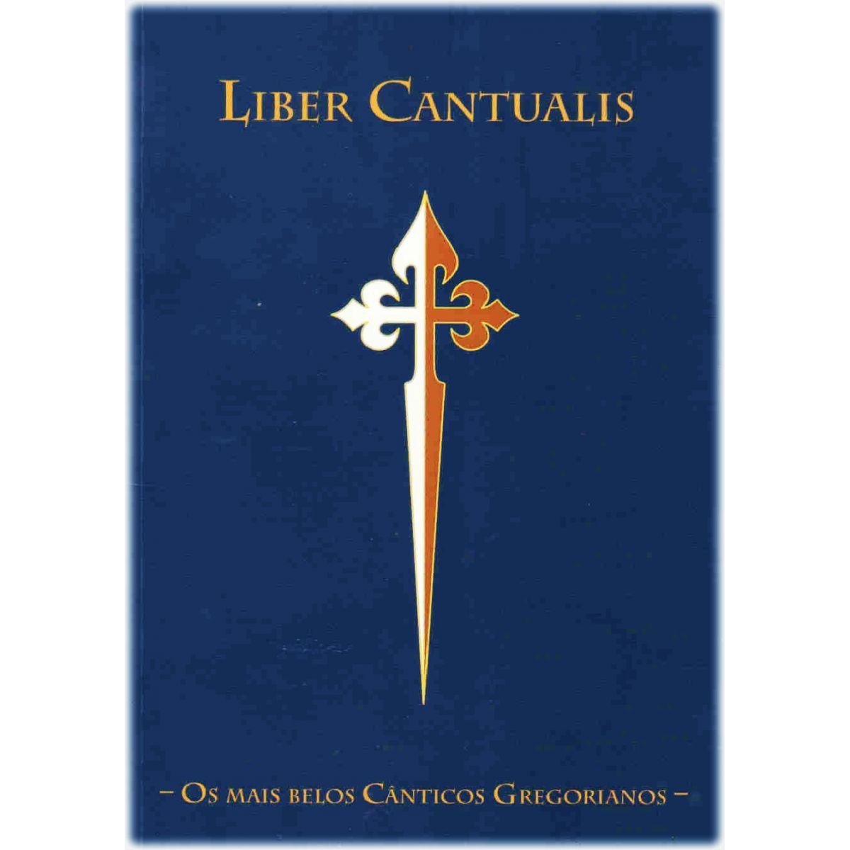 Livro de partituras Gregoriano -  Liber Cantualis
