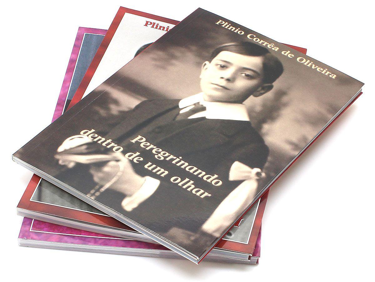 Livro - Plinio Corrêa de Oliveira - Peregrinando dentro de um olhar