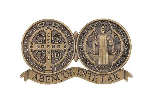 Medalha de Porta São Bento - Ouro Velho