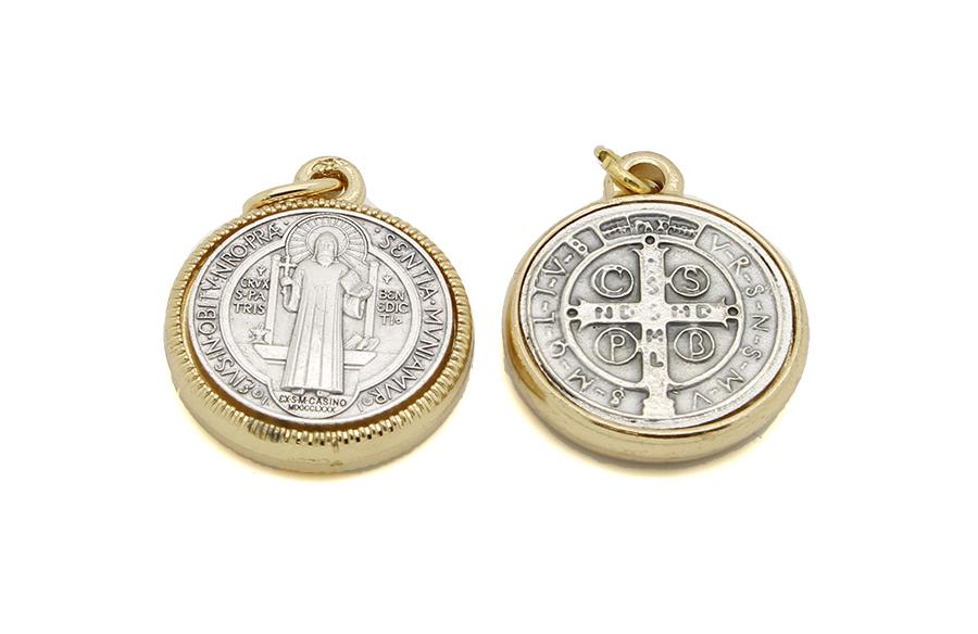 Medalha de São Bento - Metal 2,5cm