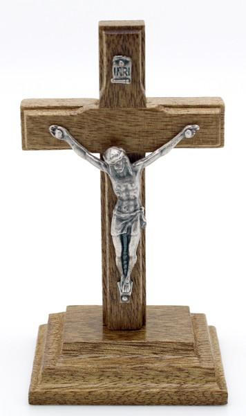 Mini Crucifixo em Madeira 9cm