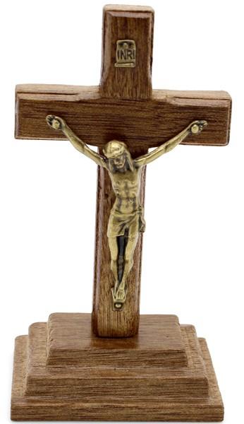 Mini Crucifixo em Madeira