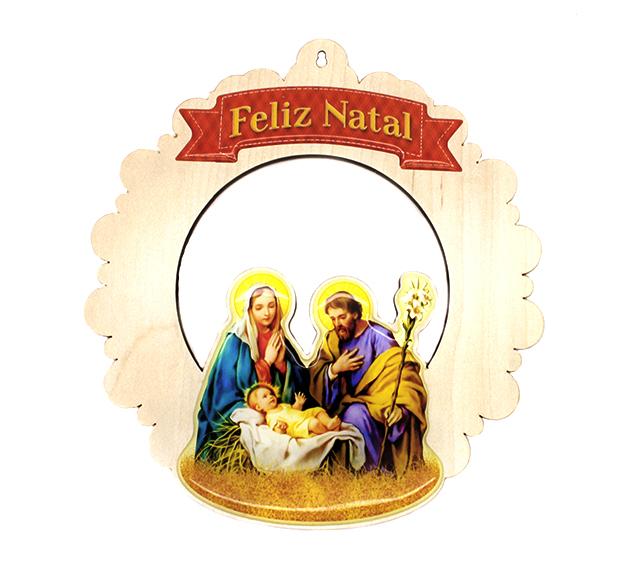 Mini Guirlanda Natalina Sagrada Familia