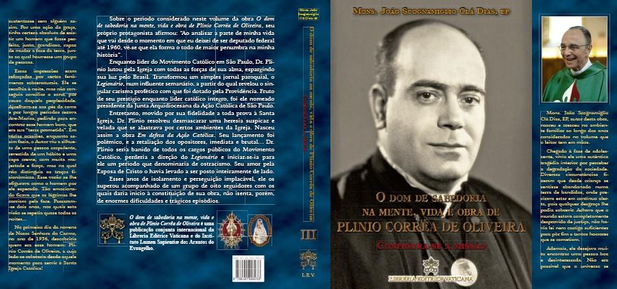 Livro: Configura-se a Missão Vol. 3 Coleção O Dom de Sabedoria na mente, vida e obra de Plinio Corrêa de Oliveira