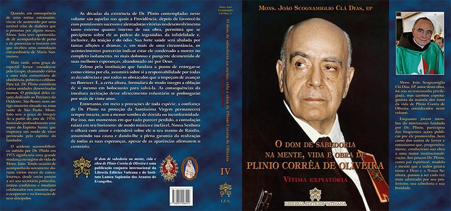 Livro: Vítima Expiatória Vol. 4 Coleção O Dom de Sabedoria na mente, vida e obra de Plinio Corrêa de Oliveira