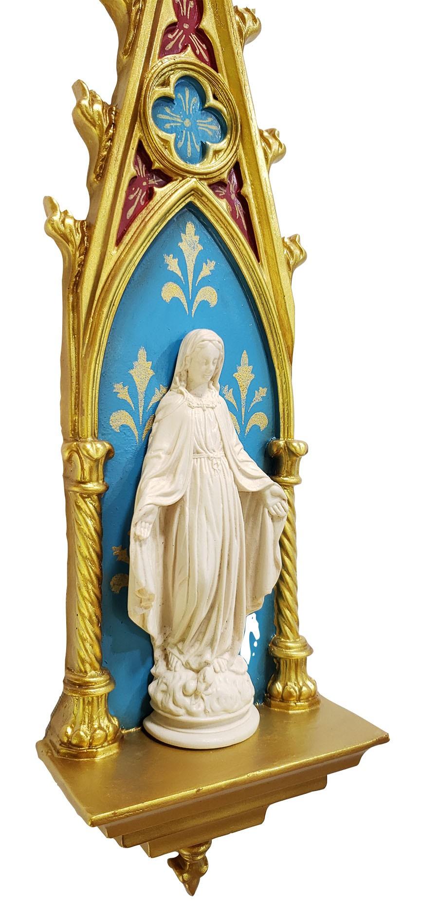 Oratório Nossa Senhora das Graças em resina - 46cm