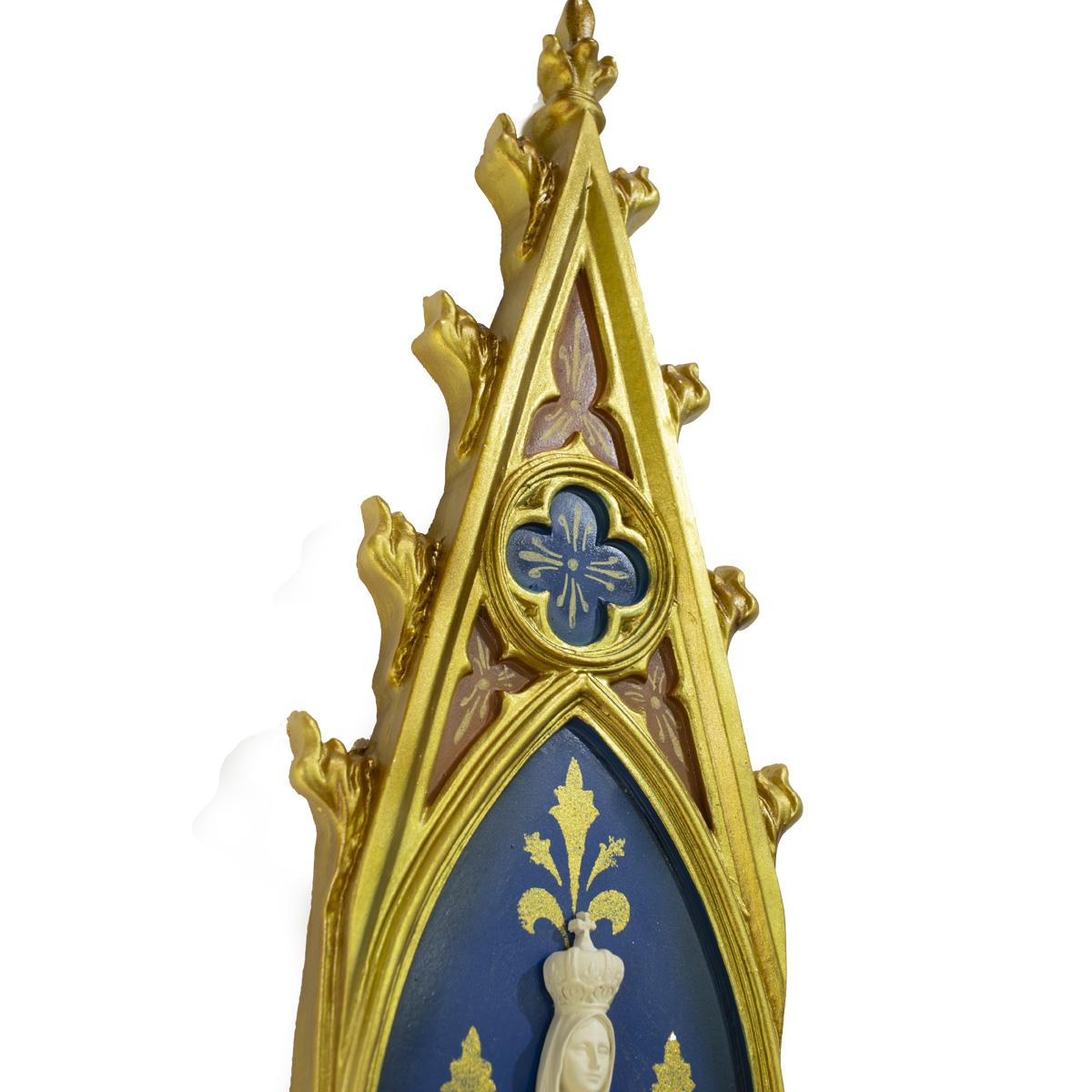 Oratório Nossa Senhora de Fátima em resina - 46cm