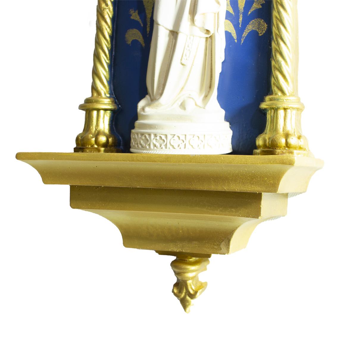 Oratório Nossa Senhora de Paris em resina - 46cm