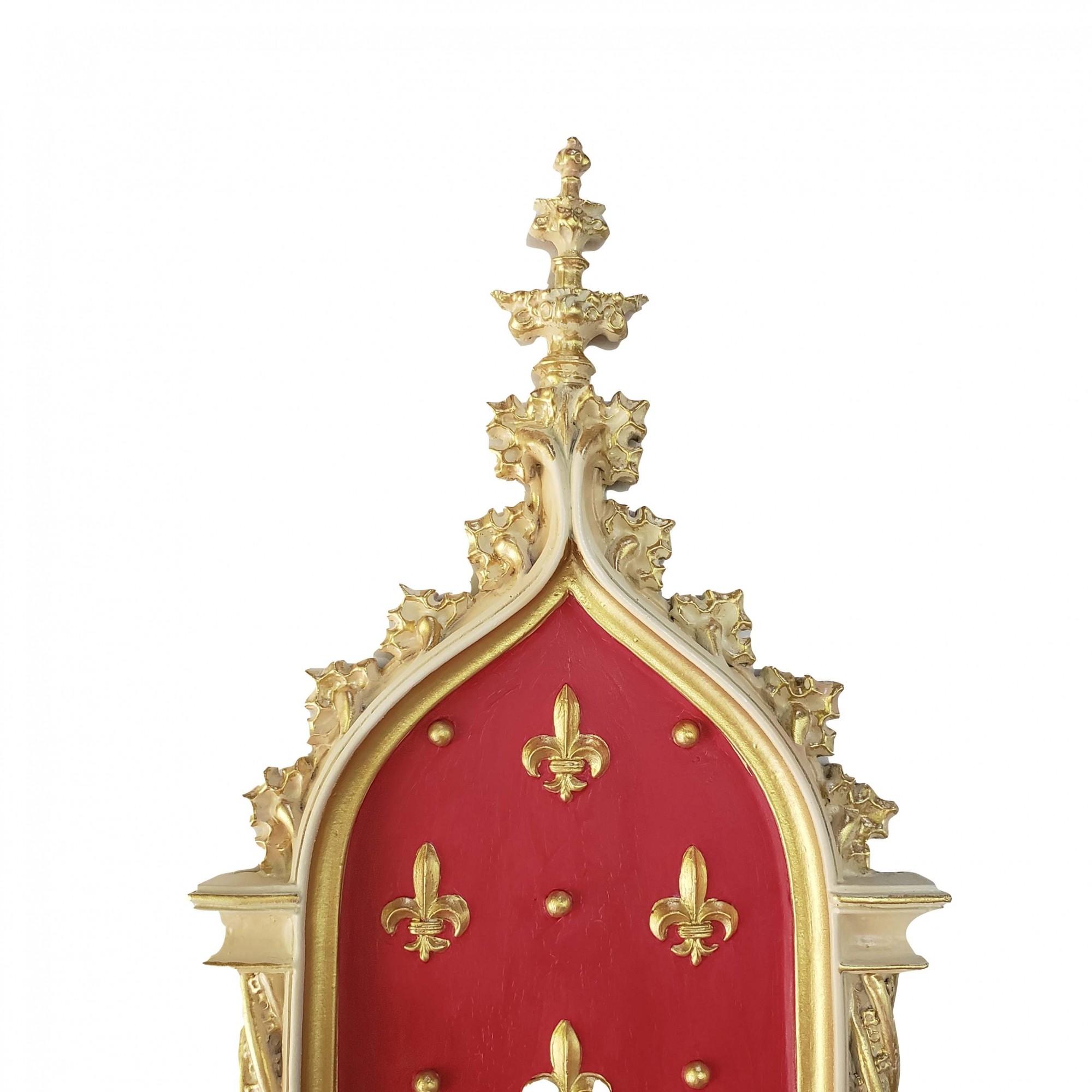 Peanha Oratório 54cm Vermelha