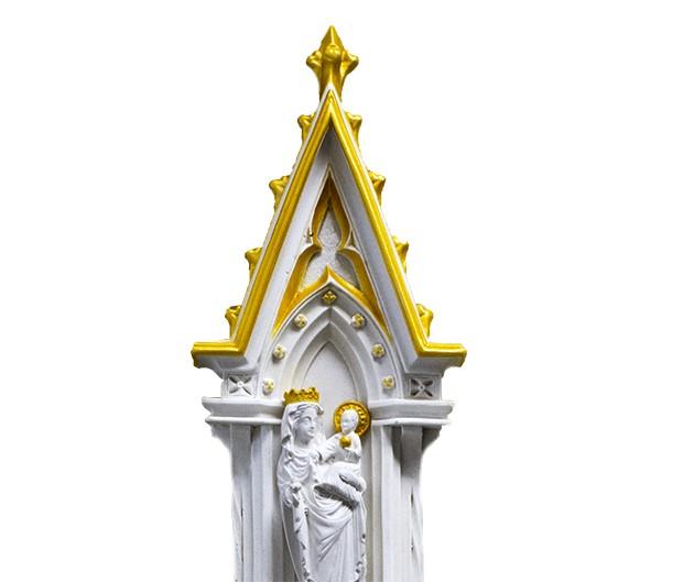 Pia de Água-Benta - Oratório Nossa Senhora de Paris