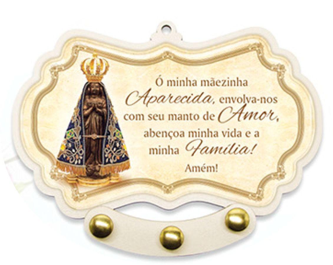 Porta Chaves MDF Nossa Senhora Aparecida
