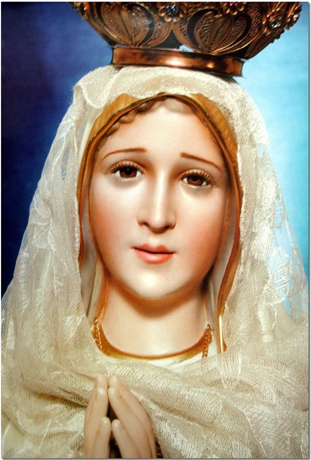 Poster Nossa Senhora de Fátima - Com Véu