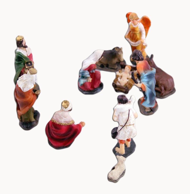 Presépio Sagrada Família - 11 peças - Pequeno