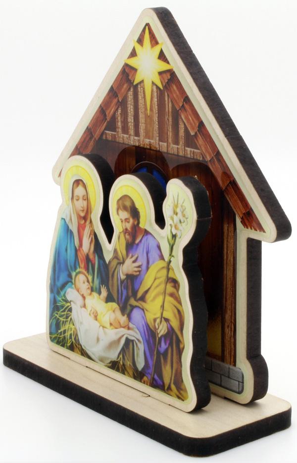 Presépio Sagrada Família - MDF