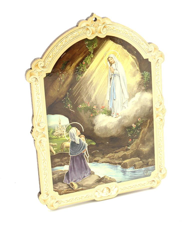 Quadrinho Húngaro - Nossa Senhora de Lourdes