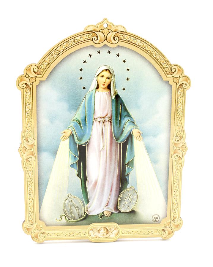 Quadrinho Húngaro - Nossa Senhora das Graças - 14cm