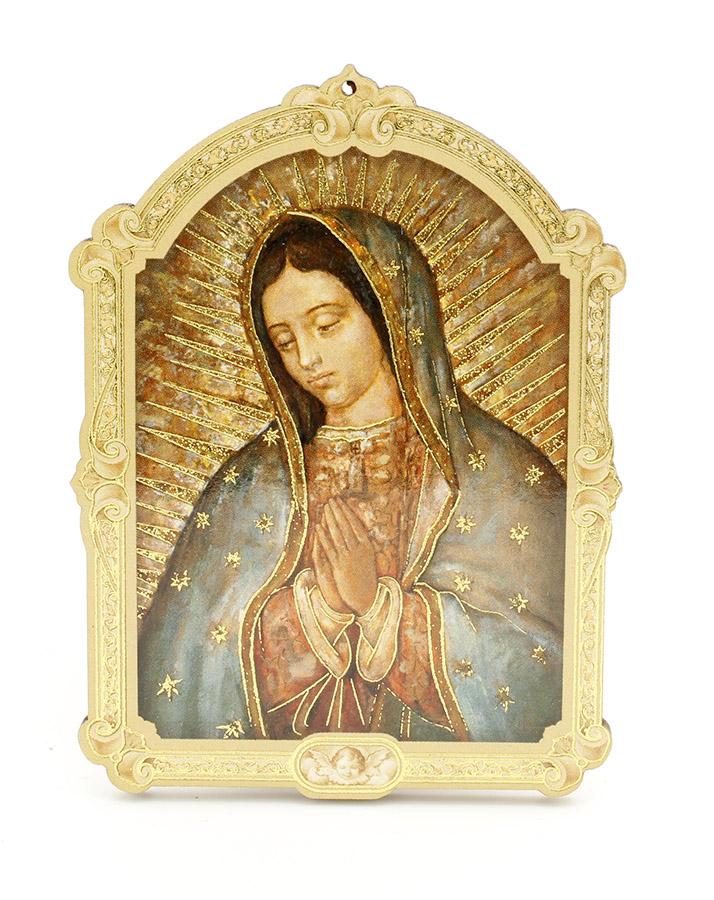 Quadrinho Húngaro - Nossa Senhora de Guadalupe - 14cm