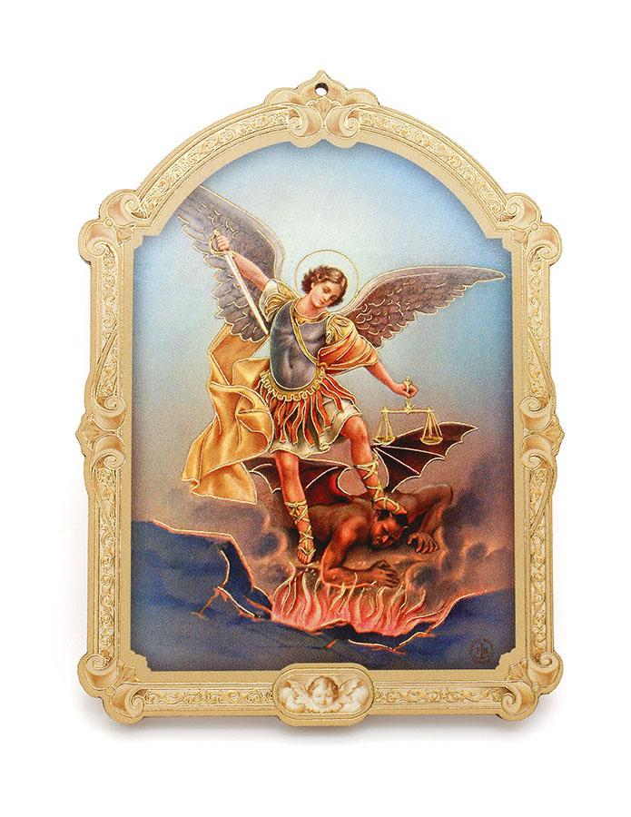 Quadrinho Húngaro - São Miguel Arcanjo