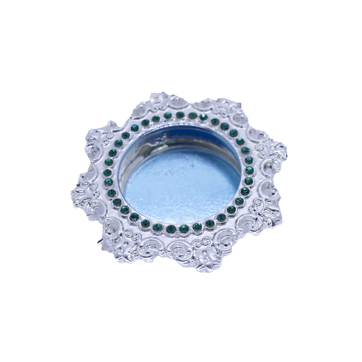 Teca para relíquia - Relicário Banho de Prata