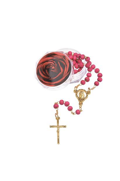Terço de Rosas Perfumado 4 mm