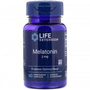 Melatonin 3mg 60 cápsulas life Extension
