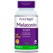 Melatonina 3mg natrol 100 cápsulas