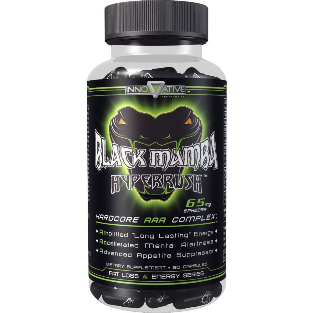 Black Mamba 6,5mg  (90 capsulas) Innovative Labs  - Nature Net