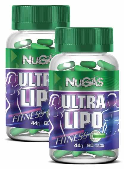 Combo 2 Ultra lipo fitness 60 cápsulas  ORIGINAL   - Nature Net