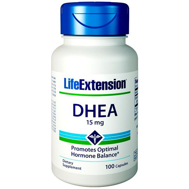 DHEA 15mg ( 100 capsulas) Life Extension  - Nature Net