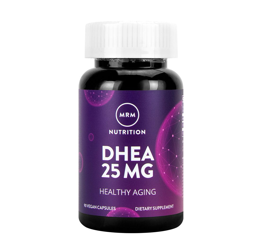DHEA MRM 25mg  90 cápsulas  - Nature Net