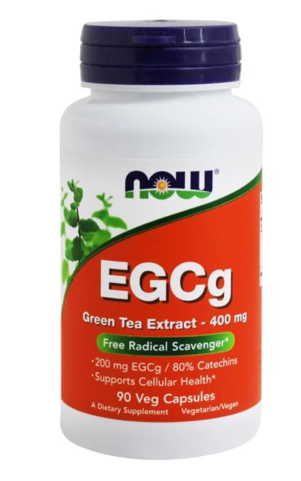 EGCg Green tea Extract - 400 Now 90 cápsulas   - Nature Net