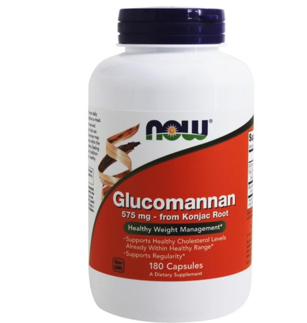 Glucomannan 575mg 180 cápsulas   - Nature Net