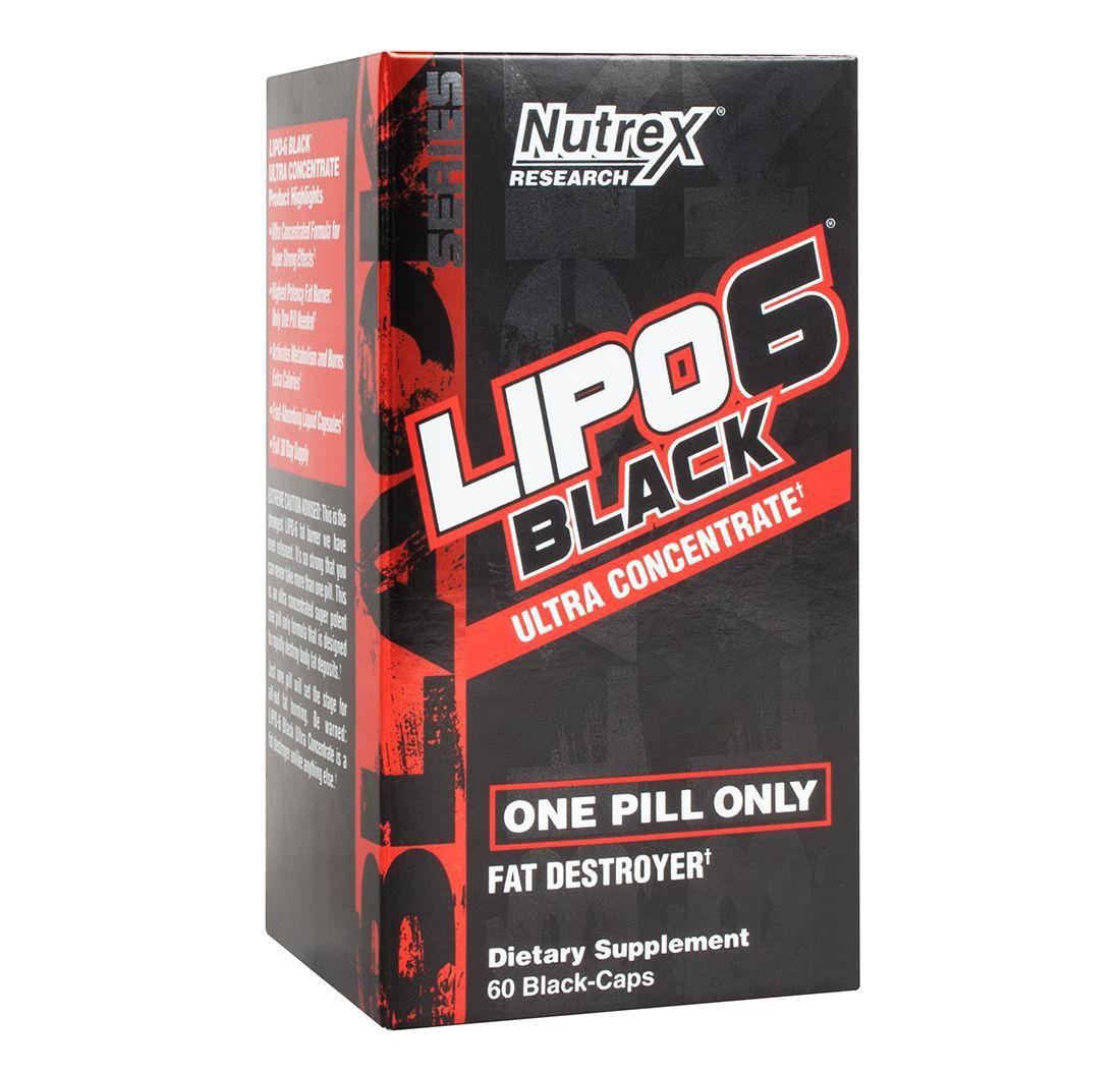 Lipo 6 Black Ultra concentrado (60 black-caps) Nutrex  - Nature Net