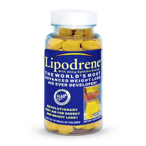Lipodrene 25mg Ephedra Extract (100 capsulas)  - Nature Net