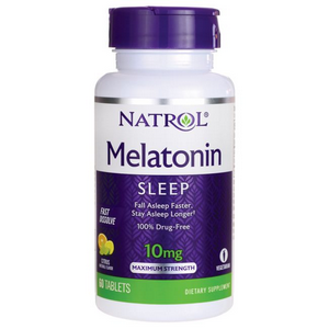 Melatonina NATROL 10mg 60 cápsulas  - Nature Net