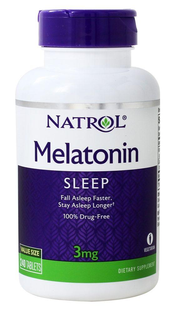 Melatonin Natrol 3mg 240 cápsulas  - Nature Net