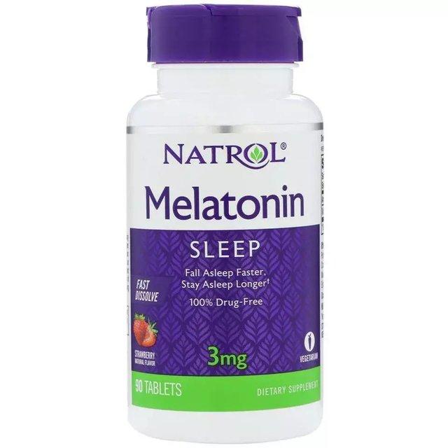 Melatonin 3mg 90 tablets  - Nature Net