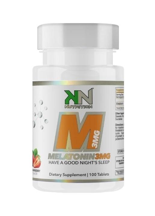 Melatonin 3mg KN 100 Capsulas Fast Dissolve  - Nature Net