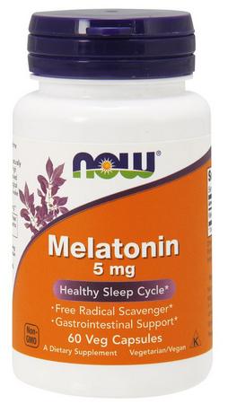 Melatonina 5mg now 60 caps  - Nature Net