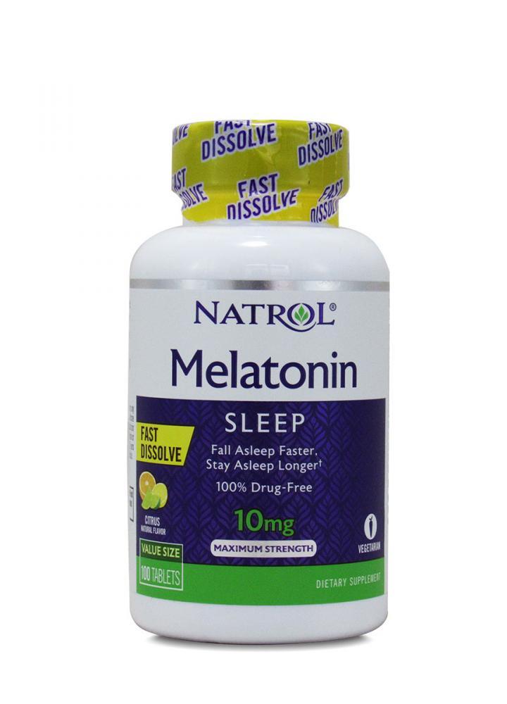 Melatonina 10mg 100 capsulas NATROL  - Nature Net