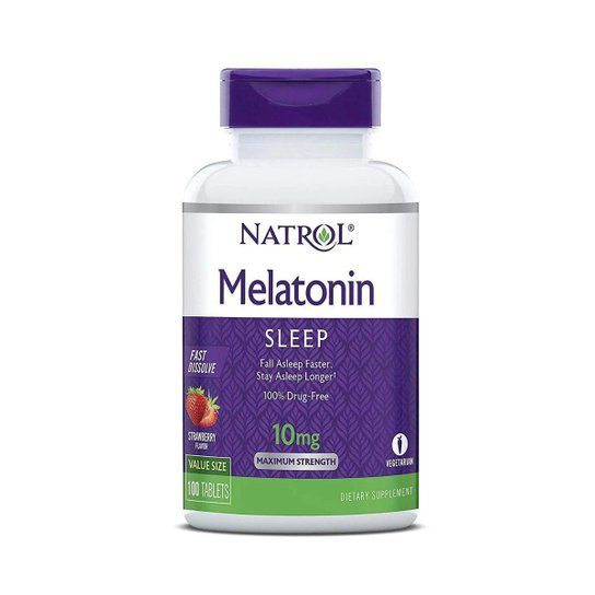 Melatonina 10mg 100 capsulas NATROL Citrus  - Nature Net