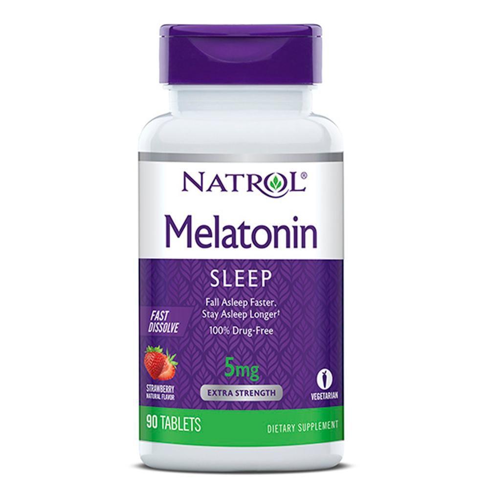 Melatonina Natrol 5mg 90 cápsulas   - Nature Net