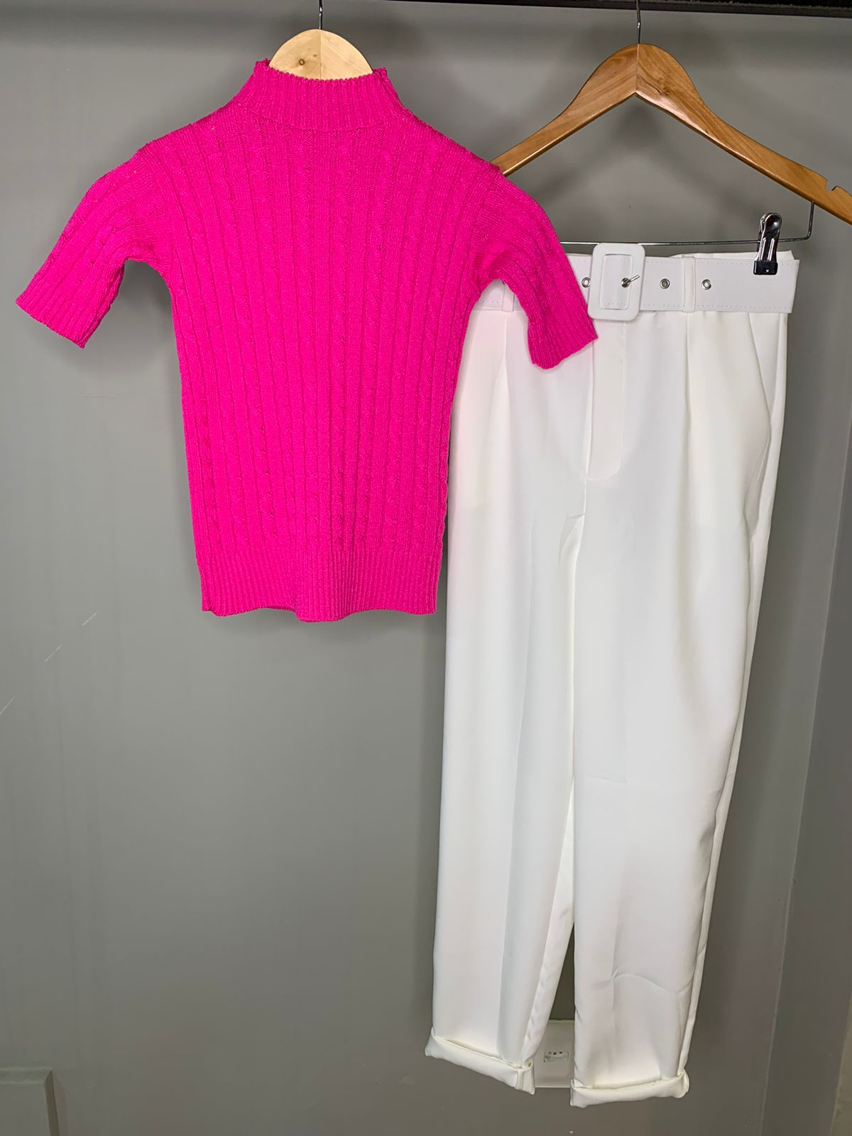 Cropped Tricot Mariana