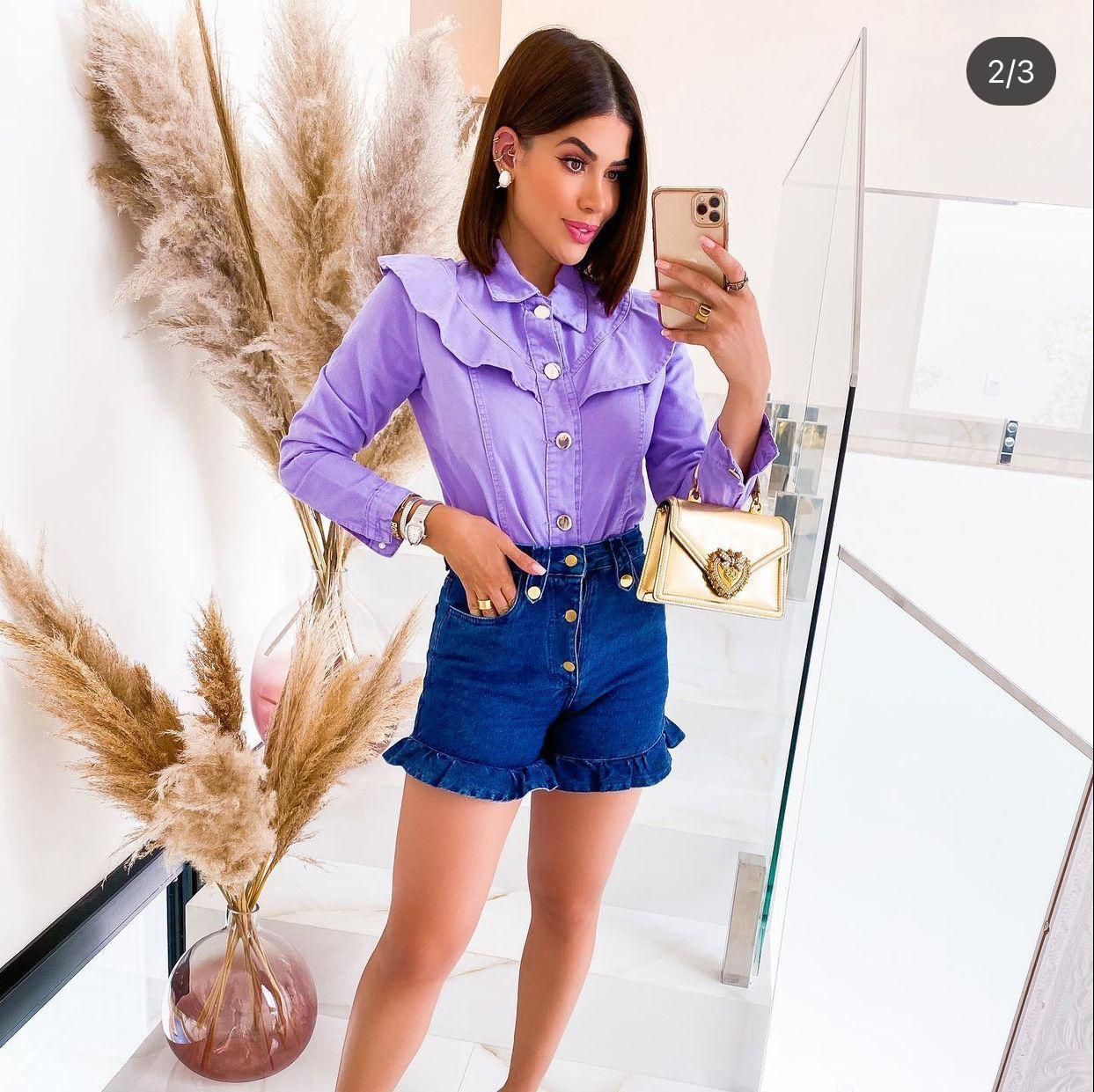 Jaqueta Jeans Vivian