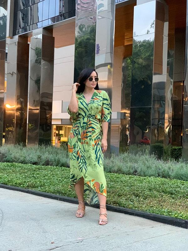 Vestido Gabriela - Estampado