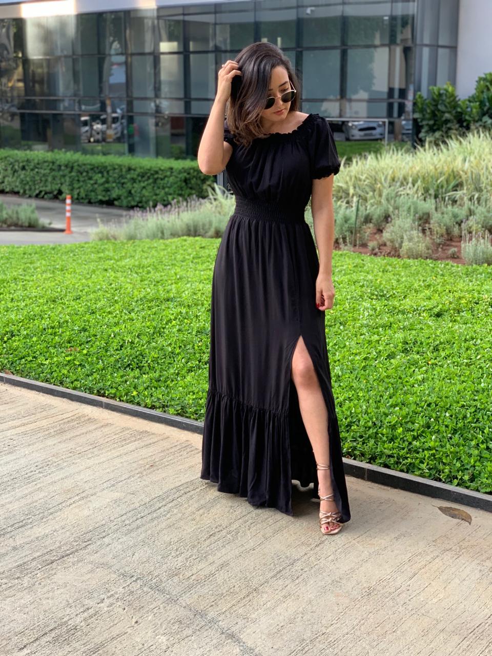 Vestido Rebeca Modelo Longo