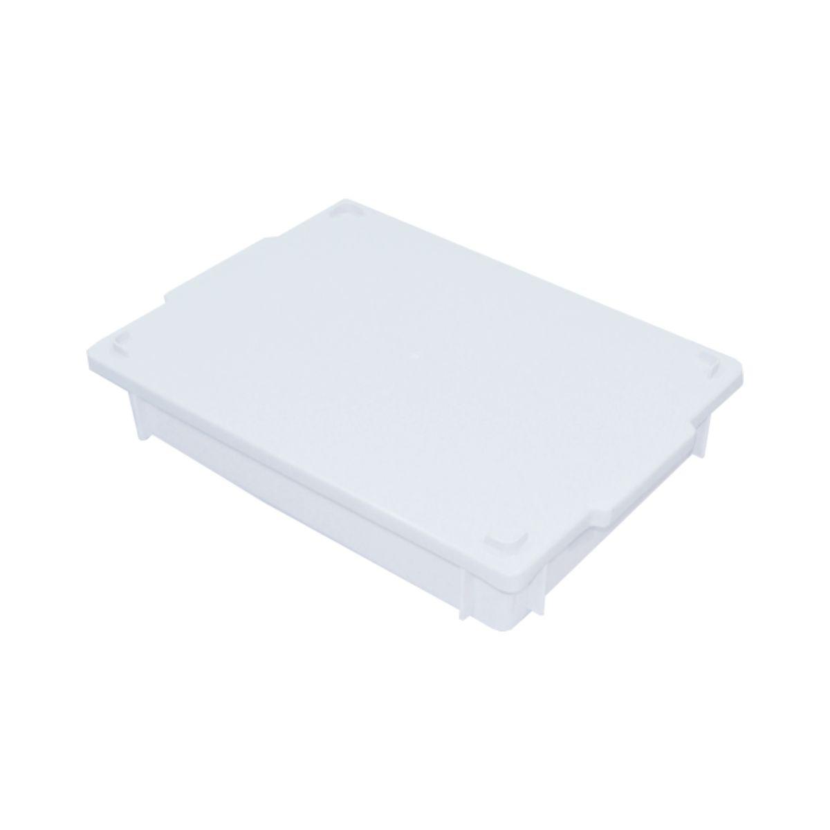 Caixa plástica empilhável c/ tampa 6,5L - S250