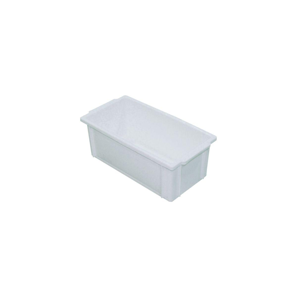 Caixa plástica empilhável c/ tampa 4,5L - S350
