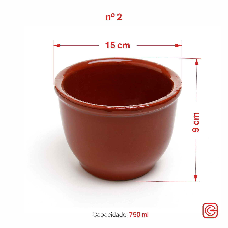 Cumbuca Alta nº2 - 750 ml
